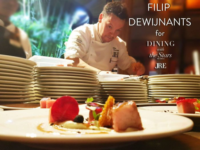 Chef Filip Dewijnants