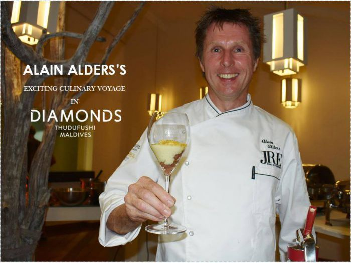 Chef Alain Alders