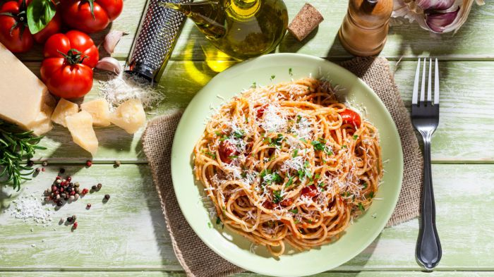 Pasta helps weight loss, new study finds